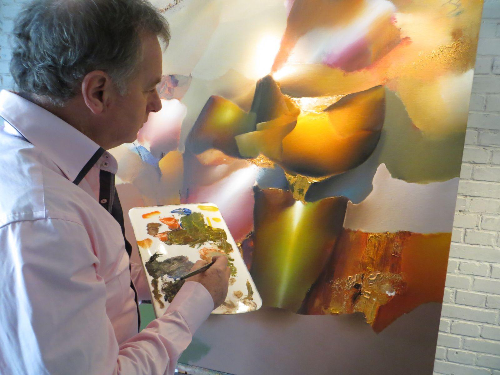 Interieur Inrichting Galerie : Arie koning schilderijen voor bedrijf & kantoor luxe interieurs